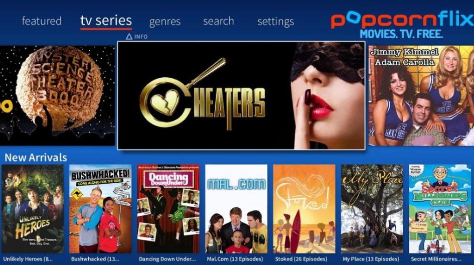 popcornflix cucirca alternative