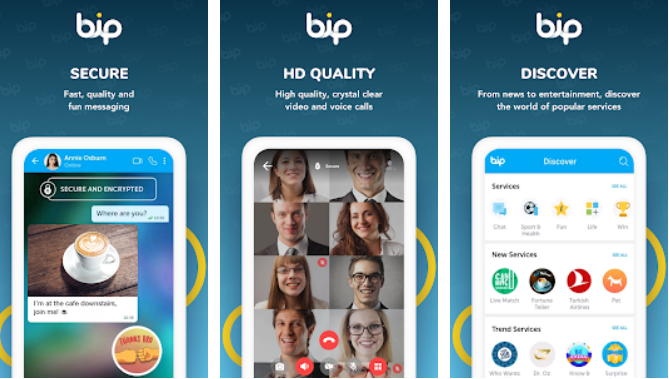 BiP for PC and Mac OS
